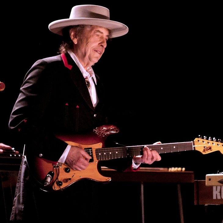 Bob Dylan: Festival trotz Regen