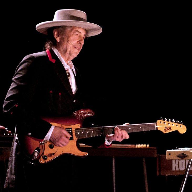 Bob Dylan lernt Dudelsack