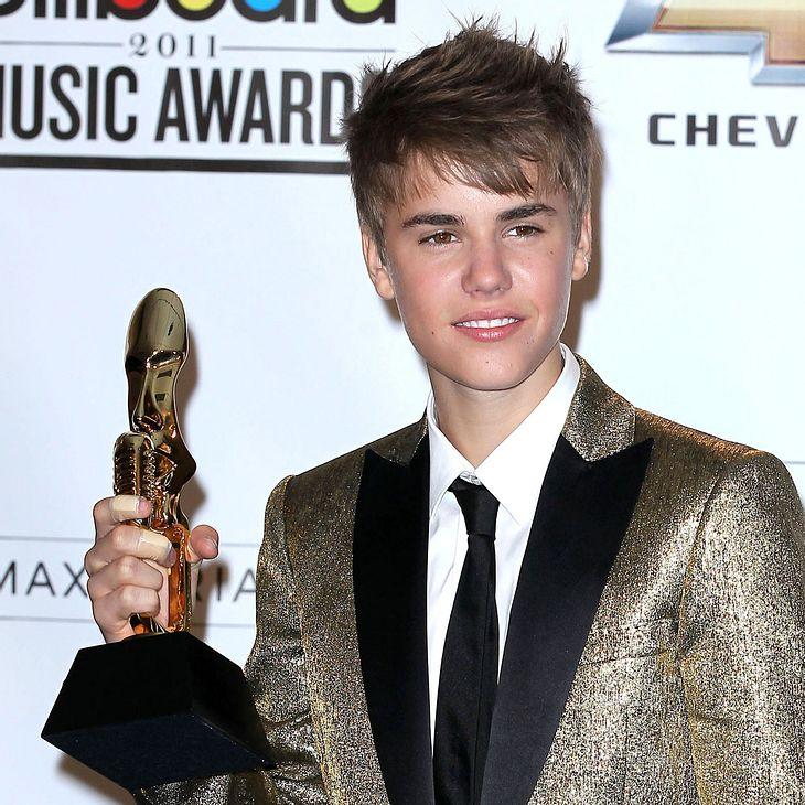 Justin Bieber: Anzahl der Awards vertauscht