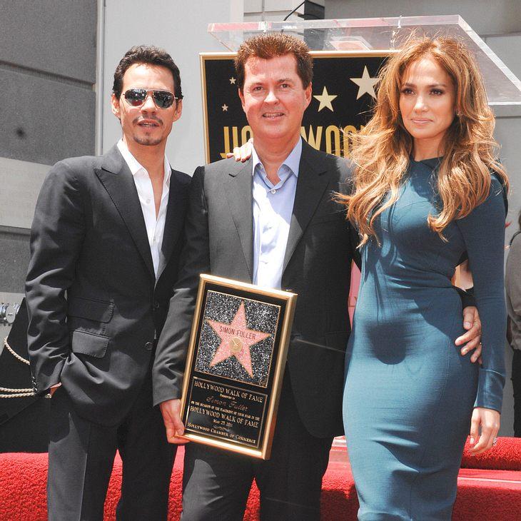 Simon Fuller bekommt Stern auf dem Walk of Fame