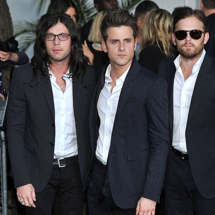 Kings of Leon ehren Ryan Dunn bei Show in London