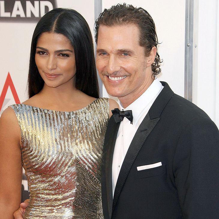 Matthew McConaughey: Hochzeit der Kinder wegen