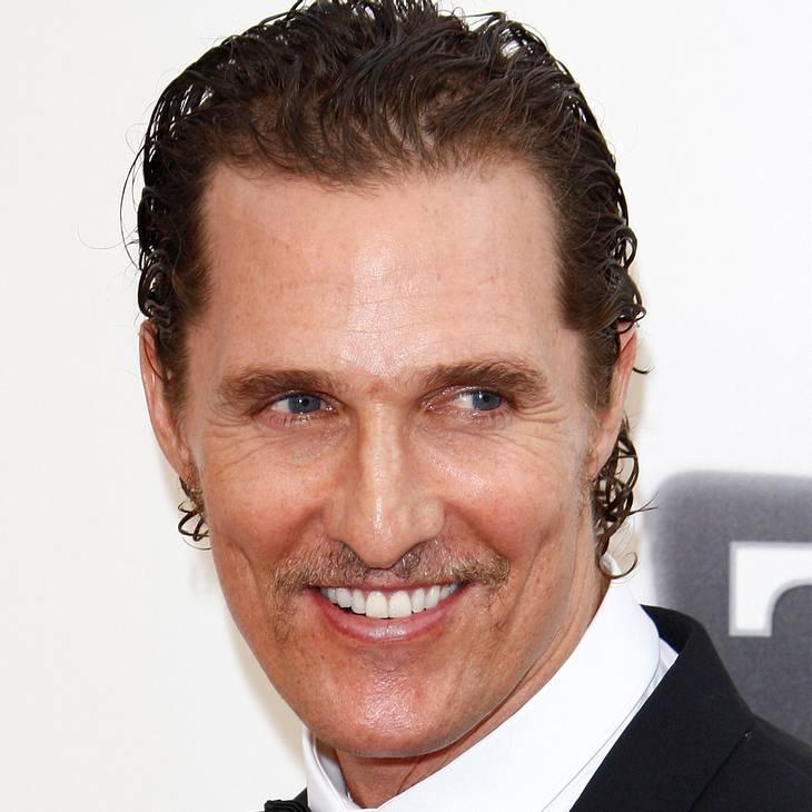 Matthew McConaughey: Neue Rolle als Stripper