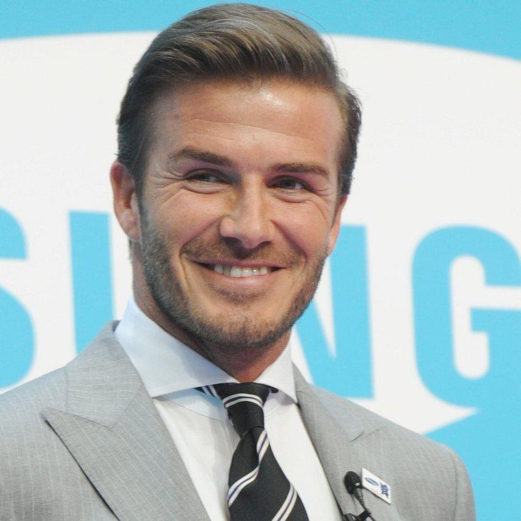 David Beckham bedankt sich für Glückwünsche