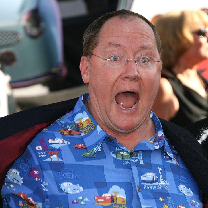 John Lasseter bekommt Stern auf dem Walk Of Fame