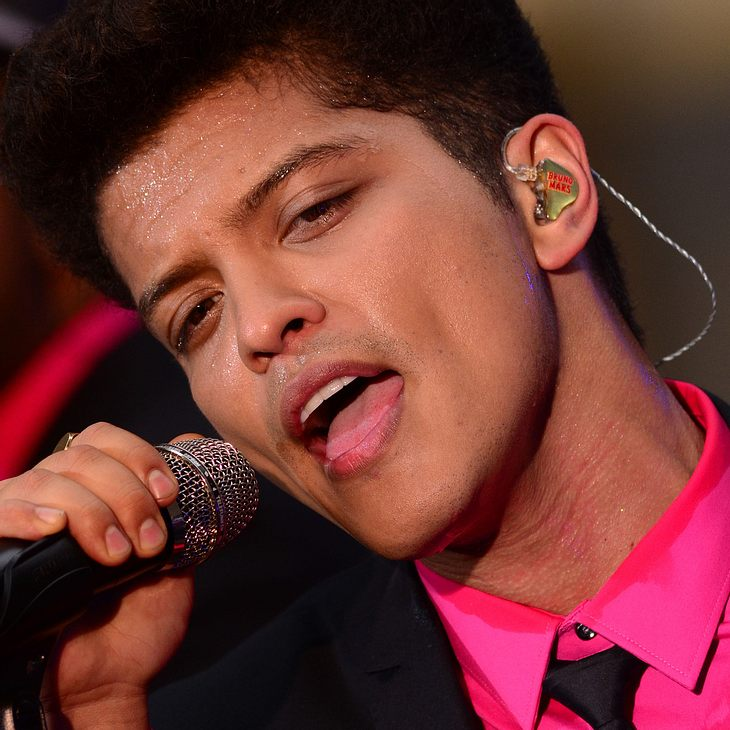 Bruno Mars: Spontanes Konzert in New York