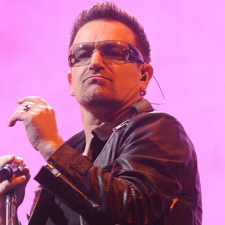 Bono: Lampenfieber vor Glastonbury-Auftritt