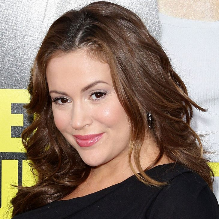 Alyssa Milano: Baby-Party
