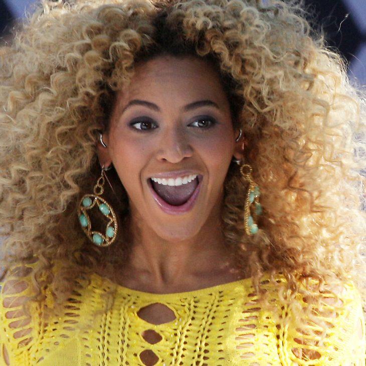 Beyonce Knowles: Pizza für wartende Fans