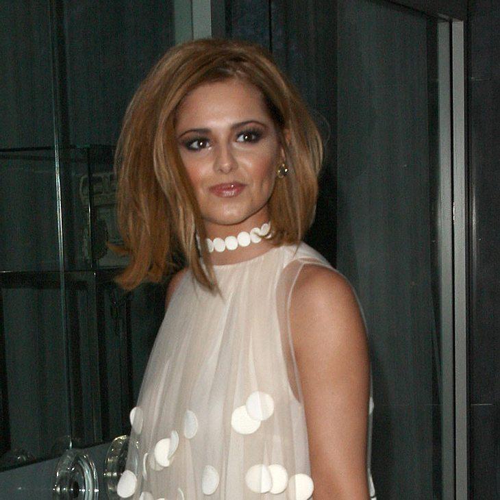 Cheryl Cole feiert mit Ex-Mann Geburtstag