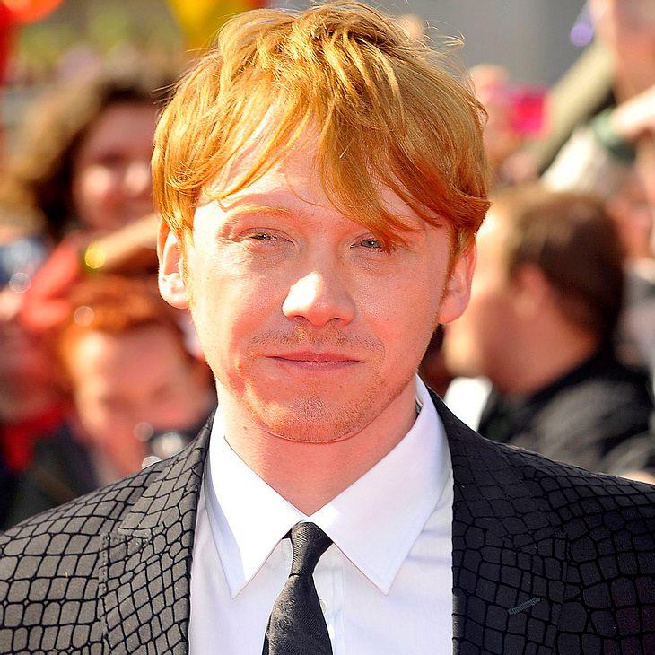 """Rupert Grint verlässt """"Harry Potter""""-Premiere"""