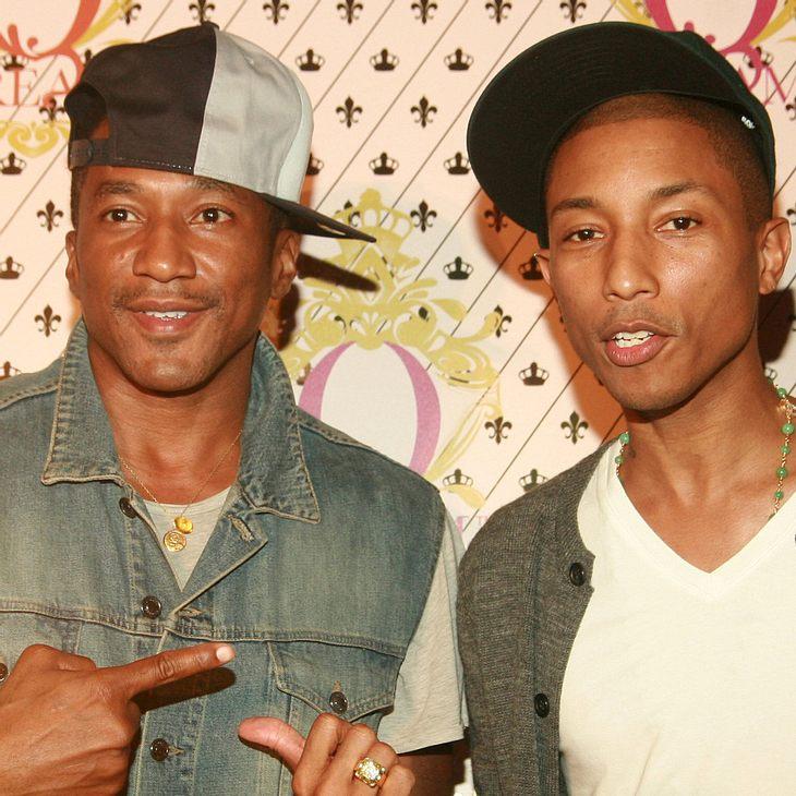 Pharrell Williams holt Hip Hop-Elite zur Vorstellung seines Drinks