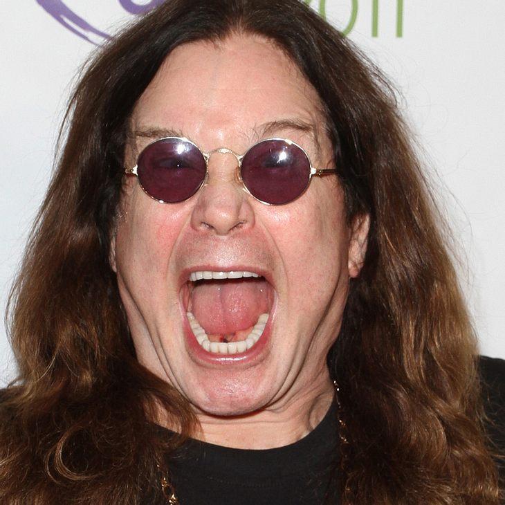 Ozzy Osbourne: Zahnprobleme