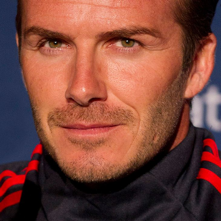 David Beckham besucht kranke Kinder in Australien