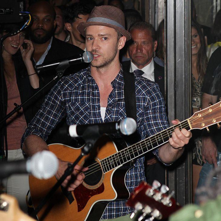 Justin Timberlake-Überraschungskonzert sorgt für Massenauflauf