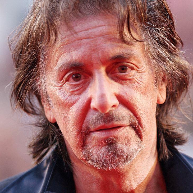 """Al Pacino: """"Ich werde arbeiten bis ich tot umfalle"""""""