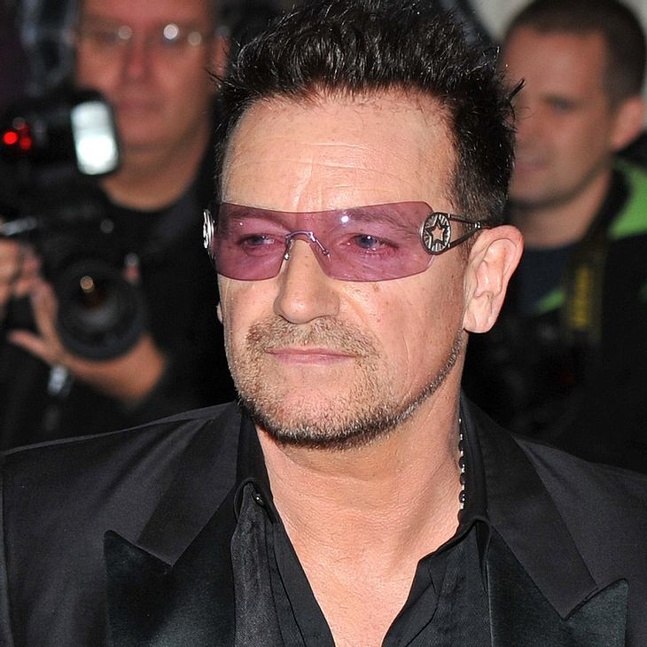 Bono besucht britische Regierung