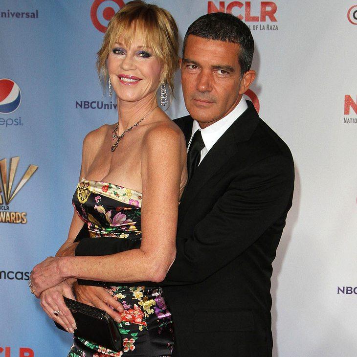 Melanie Griffith und Antonio Banderas schmeißen Obama-Party