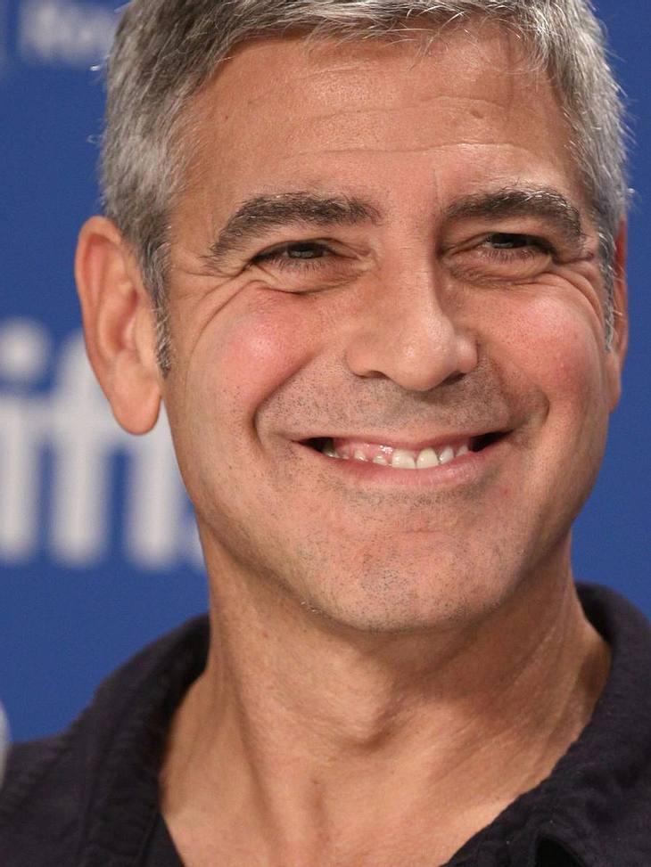 George Clooney ist ein echter Scherzkeks
