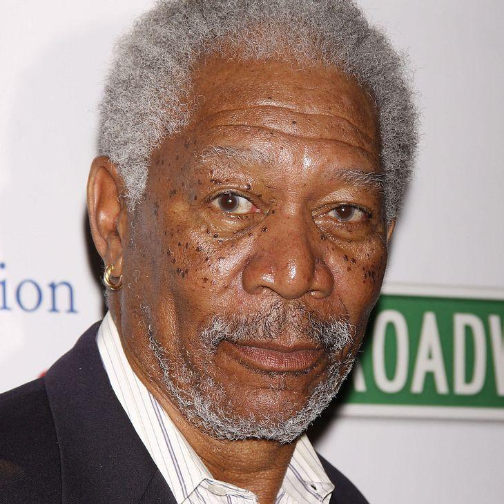 Morgan Freeman: Mittagessen gegen Höchstgebot