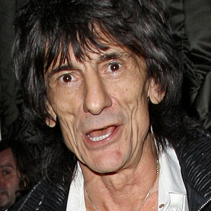 Ronnie Wood zeigt seine Kunst in London