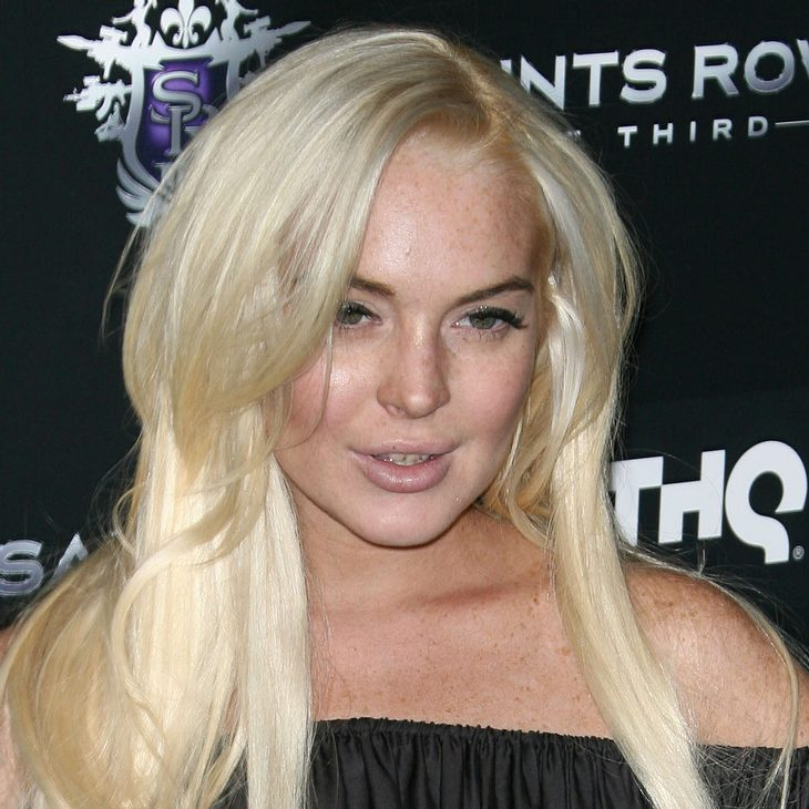 "Lindsay Lohan imitiert Marilyn Monroe für den ""Playboy"""