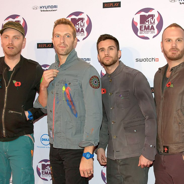 Coldplay sagen Auftritte ab