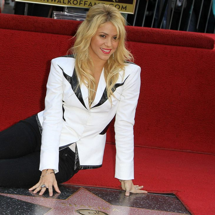 Shakira: Stern auf dem Hollywood Walk of Fame