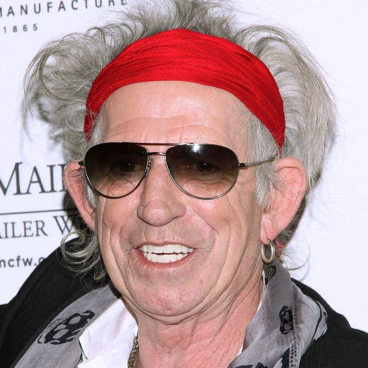 Keith Richards verängstigt Freunde seiner Töchter