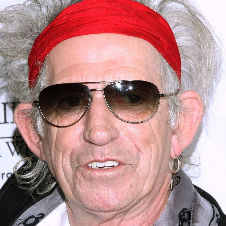 Keith Richards: Augenoperation