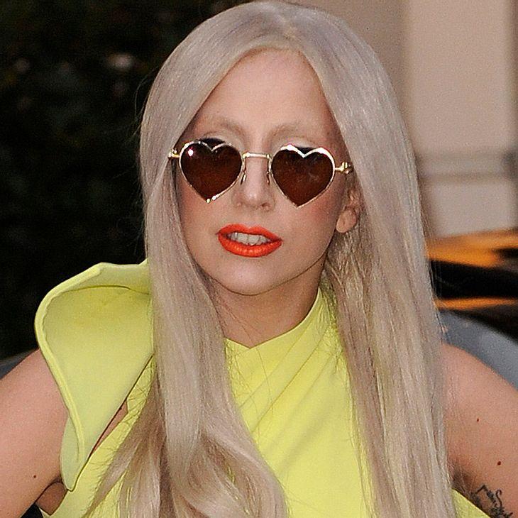 Lady Gaga brennt der Kopf