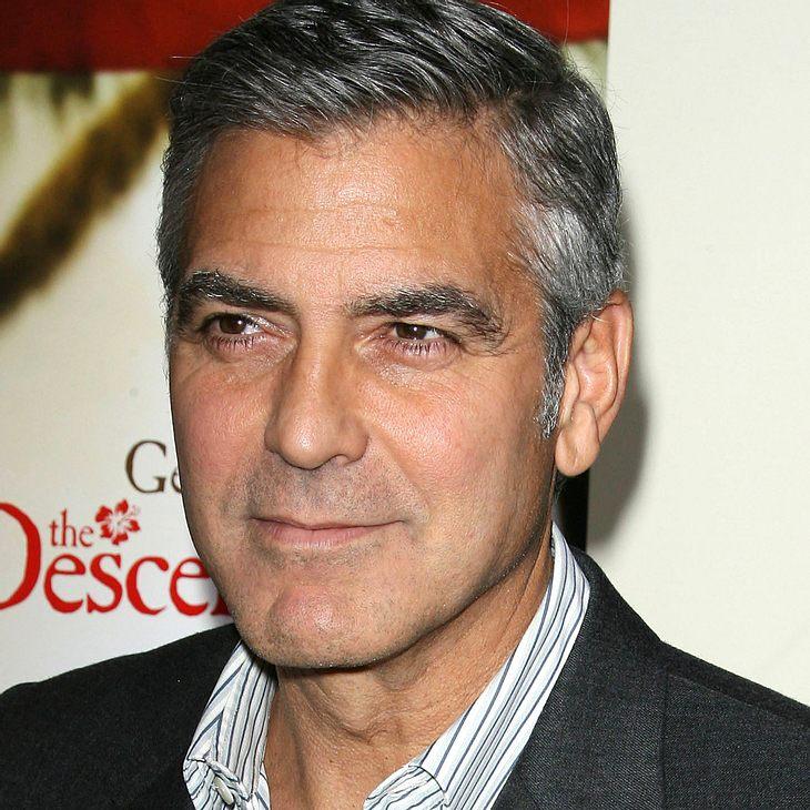 George Clooney dementiert Party mit Berlusconi