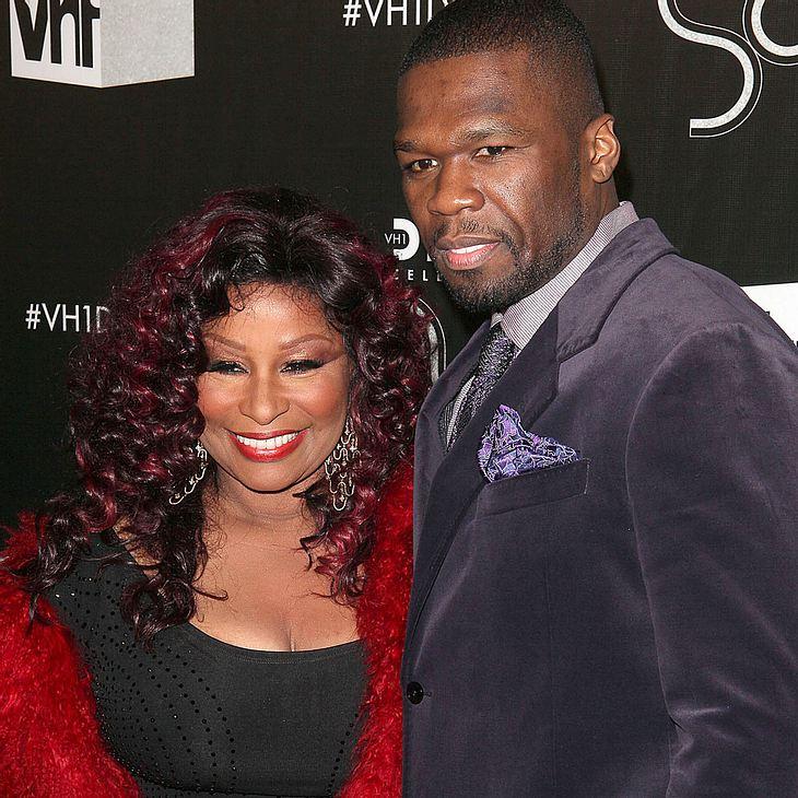 50 Cent & Chaka Khan: Gemeinsam im Studio