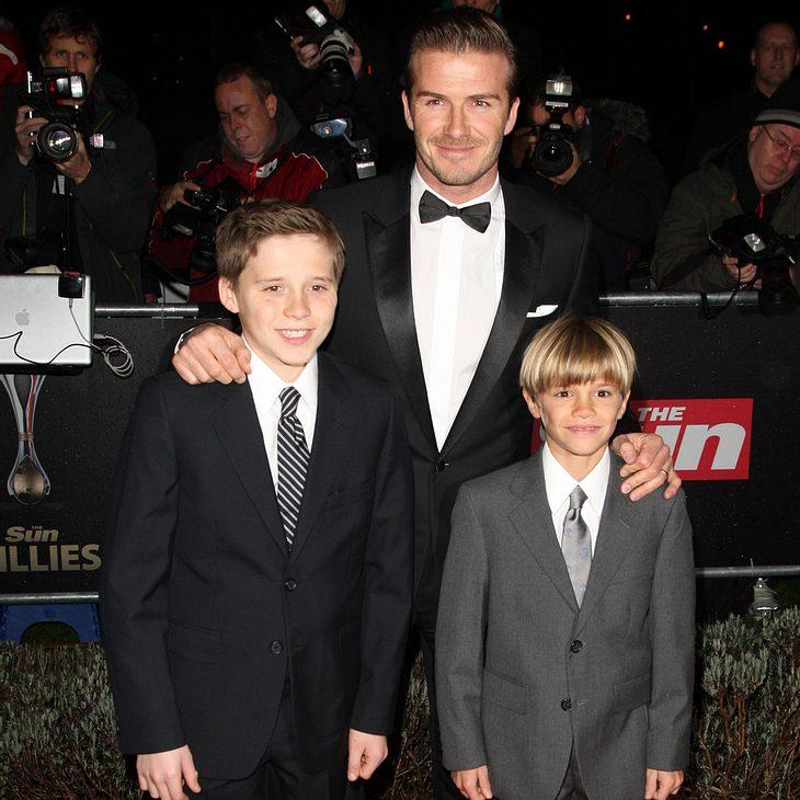 David Beckham ist seinen Söhnen peinlich
