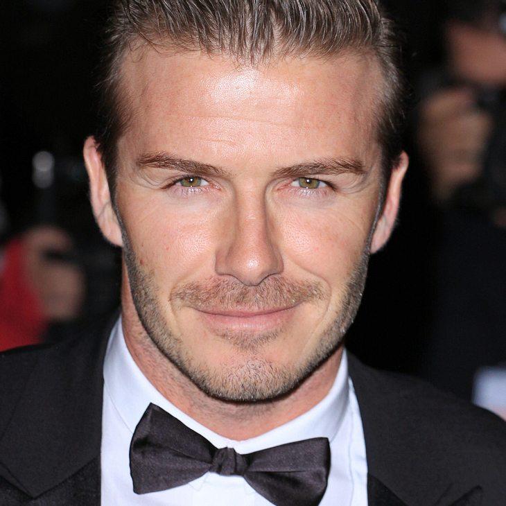 David Beckham meidet Victoria bei Fashion Shows