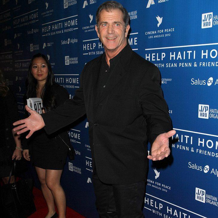 Mel Gibsons Ex-Frau erhält Hälfte seiner Pension