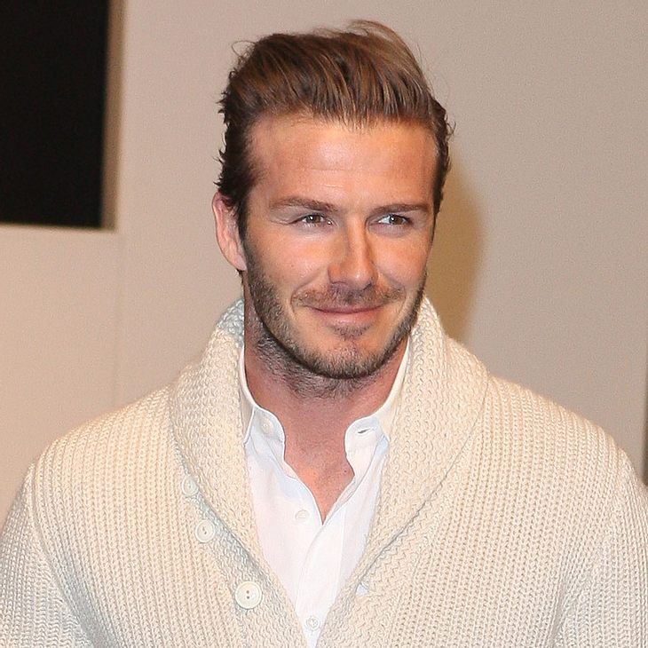 David Beckham sieht beim Kinderfußball rot