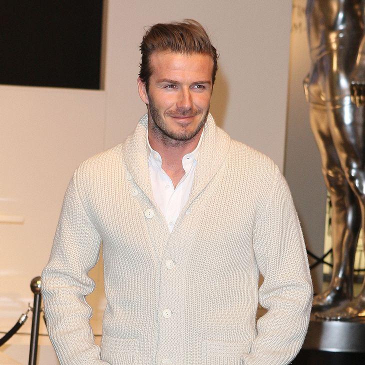 David Beckham bereut seine Modesünden