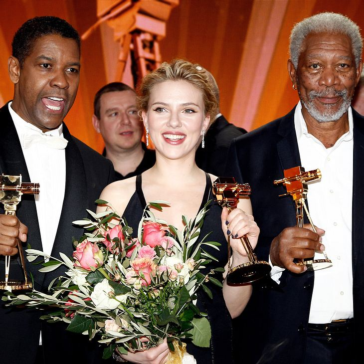 Morgan Freeman bekommt Goldene Kamera