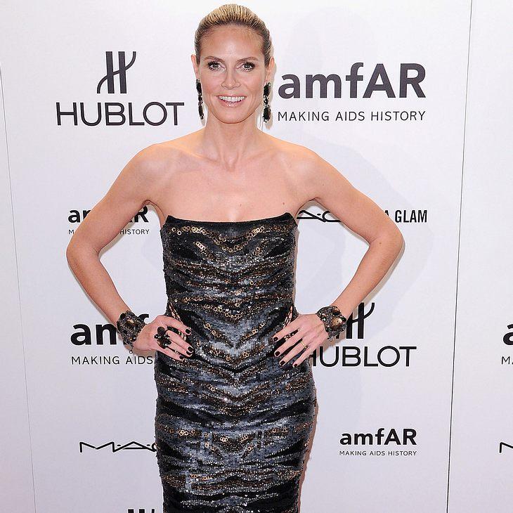 Heidi Klum: Erster Auftritt auf dem roten Teppich