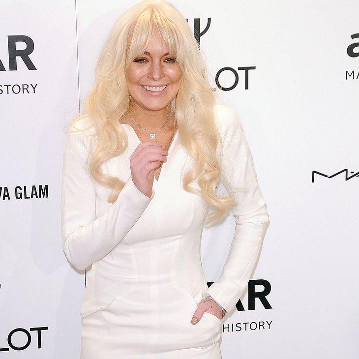 """Lindsay Lohan: Für ihre """"Reife"""" gelobt"""
