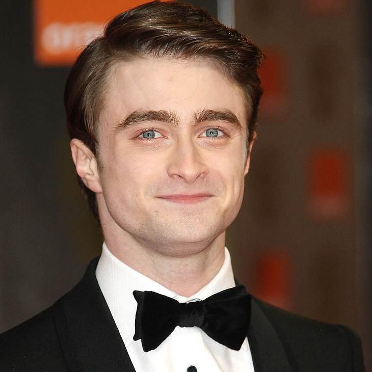 Daniel Radcliffe von Versagensangst geplagt