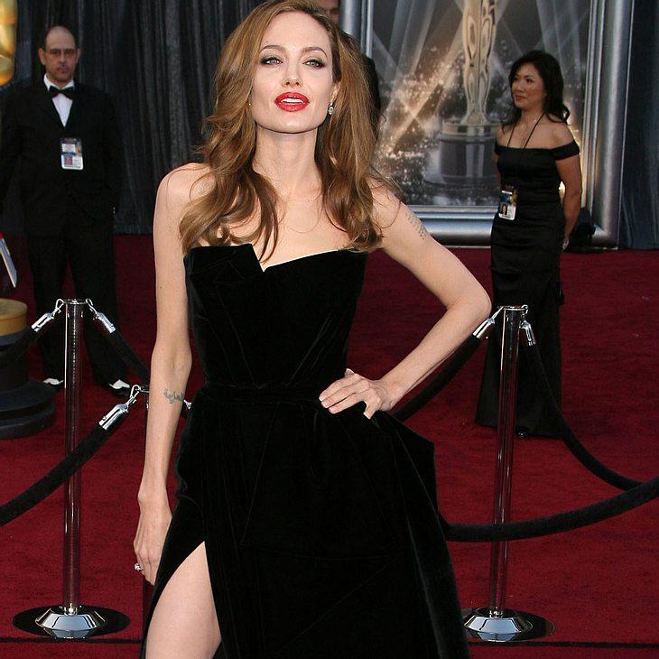 Angelina Jolie: Nicht begeistert über Wirbel um Oscars