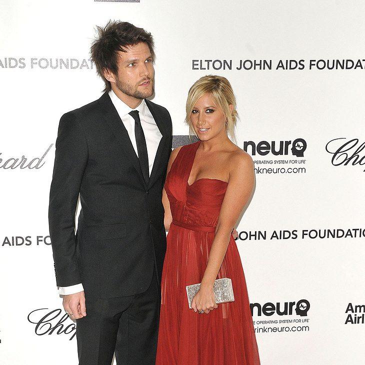 Ashley Tisdale & Martin Johnson: Erster Auftritt als Paar