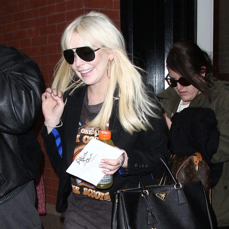 Lindsay Lohan zu angeblicher Fahrerflucht befragt