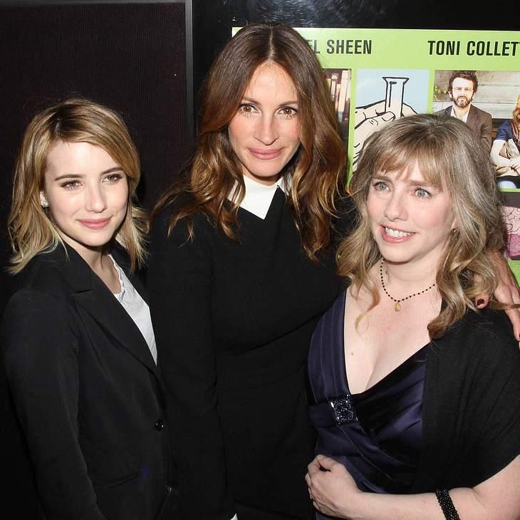 Julia Roberts lernt Emma Roberts' Freund kennen