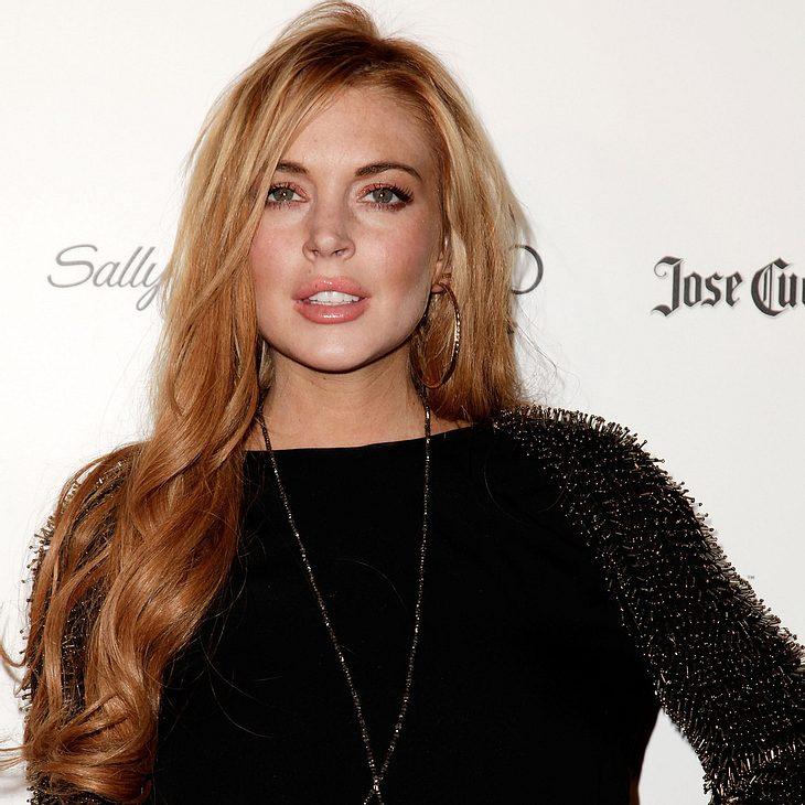 Lindsay Lohan nach Unfall im Krankenhaus