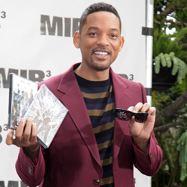 "Will Smith war gegen ""MIB 3"" in 3D"