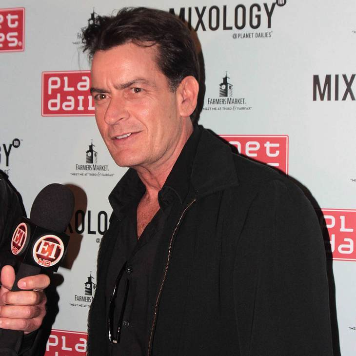 Charlie Sheen spendet seine Gage