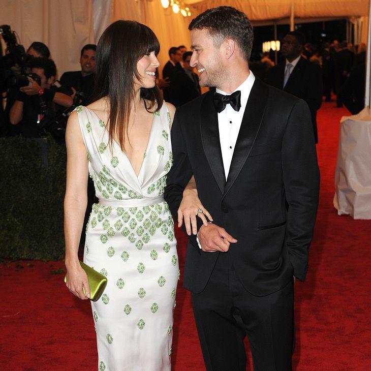 Jessica Biel und Justin Timberlake geben erste Hochzeitsparty